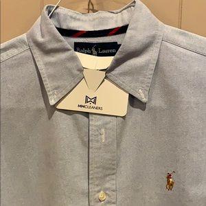 Men's Polo Button Down Oxford Size M